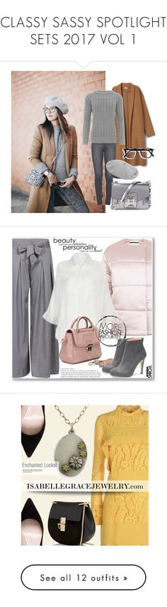 """""""CLASSY SASSY SPOTLIGHT SETS 2017 VOL 1"""" by mk-style ❤ liked on Polyvore featuring Paige Denim, WearAll, MANGO, Proenza Schouler, Topshop, yoins, yoinscollection, loveyoins, puffers and N°21"""
