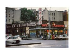lower east side nyc | Katz's Deli in the Lower East Side - New York City