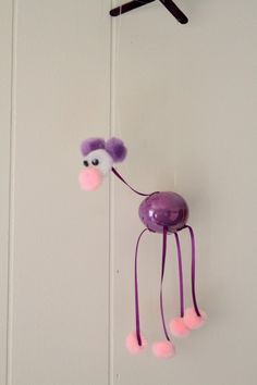 Egg Marionette tutorial - made ones similar to these as a kid but the feet were bigger and we put can lids (from frozen juice) on the bottoms so they'd make a tap dancing kinda noise as you used them