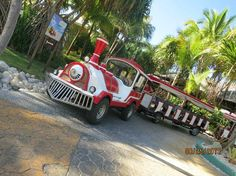 Melia Caribe Tropical: train stops all over, so its easy to get around