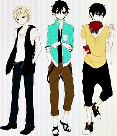 anime male clothes designs - Google Search