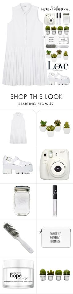 """Без названия #503"" by songjieun ❤ liked on Polyvore featuring Monki, Room Essentials, Jeffrey Campbell, David Beckham, Fujifilm, NARS Cosmetics, Kent, Casetify, philosophy and Billabong"