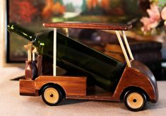 Ladder Golf, Wood Ladder, Golf Bar, Golf Crafts, Golf Room, Classic Golf, Golf Theme, Vintage Golf, Wine Bottle Holders