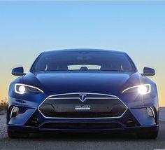 Cambiar a un estilo de vida con 0 emisiones de carbono (en imagen: un carro Tesla eléctrico).