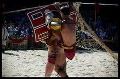 Wilde Gladiatoren Kämpfe