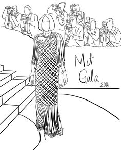 Shared by _natcas #madewithpaper #enclavedepod (o) http://ift.tt/2dcaUT0 editor in chief #AnnaWintour in @chanelofficial at the @metmuseum gala #vogue #metgala #chanel #sketch #bwdrawing #doodle  #fiftythree #digitalart #illustration #artist #art #fashion #highfashion #couture #fashionillustration #manhattan #newyork #metmuseum #draw #ipadsketch