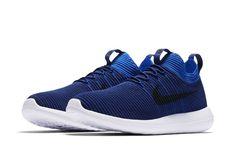Nike Roshe Two Flyknit V2 Deep Royal Blue-5