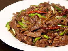 Learn how to make garlic ginger beef stir fry 8921 , Category: Video Recipe ,User name: foodie, Date: Sun, 15 Sep 2013 - Healthy Food Network Chilli Recipes, Stir Fry Recipes, Meat Recipes, Asian Recipes, Cooking Recipes, Healthy Recipes, Yummy Recipes, Beef Stir Fry Sauce, Food Presentation