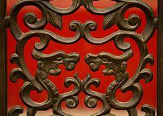 Dragon detailing, Forbidden City, China