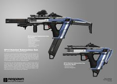 "This very popular Titan weapon was due for an upgrade as it made it's return to Titanfall 2. In this concept, I beefed out the barrel guards and added plating to the body that very much resembles reactive armor. This is a heavy hitting rifle that fires precision ordnance. It is highly sought after in anti-Titan combat, so to convey that I wanted the weapon to be ""used, not abused"". Markings and language are inspired by heavy artillery. The 40mm is fielded by the Atlas-class Titan, Tone."