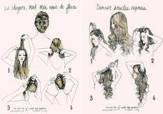 A arte do cabelo | Tudo Para Meninas