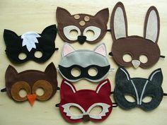 masques en feutre