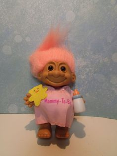 """PREGNANT MOMMY-TO-BE - 5"""" Russ Troll Doll - NEW IN ORIGINAL BAG - Last Ones #Russ #TrollDoll"""