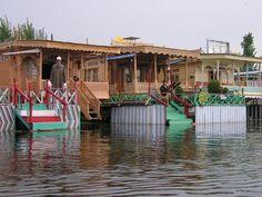 Houseboats on Lake Dal - Srinagar, India