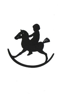 Rocking horse Child Silhouette