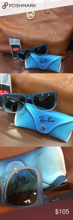 Ray-Ban sunglasses NEW with case Ray-Ban sunglasses NEW with case.  Number RB 4165 Ray-Ban Accessories Glasses