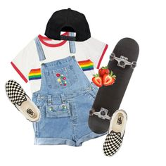art hoe from math class by kampow on Polyvore featuring Vans and Boohoo