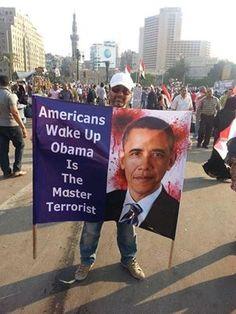 Americans Wake up Obama is The Master Terrorist.  ----- I AM WAKE!!!