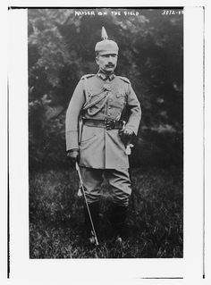 Kaiser on the field (LOC) by The Library of Congress, via Flickr