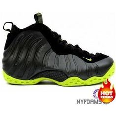 6a885532062 Nike Air Foamposite One Black Black bright cactus Nike Foamposite For Sale