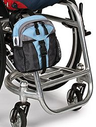 Awesome Wheelchair Accessories, Exciting Wheelchair Bags, Handy Mini Packs. You Carry Stuff-You Have Choices www.WheelchairGear.com
