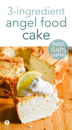 GAPS, Paleo Real Food Recipes, Baking Recipes, Cake Recipes, Dessert Recipes, Primal Recipes, Gf Recipes, Vegetarian Recipes, Paleo Baking, Paleo Dessert