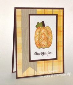 Truly grateful stampin up