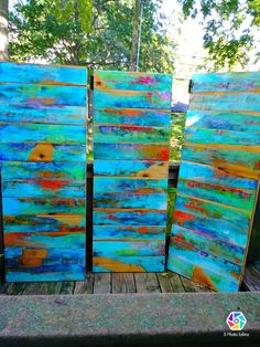 bathroom shower decor wooden stall door is part of Wooden stall doors please contact me with your requests for customization and i will provide you with some options and a quote These doors are - Pool Bathroom, Art Diy, Painted Furniture, Painted Wood, My New Room, Wood Doors, Wood Pallets, Pallet Wood, Painting On Wood