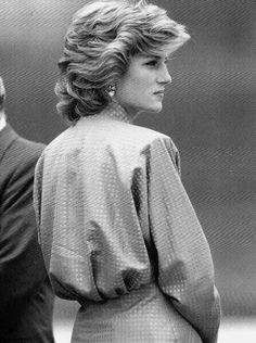 I always wanted hair like hers.  One of a kind she was.  Princess Diana
