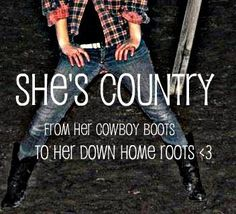 thats the way she was born and raised, she ain't afraid to say. Country Song Quotes, Country Song Lyrics, Music Lyrics, Country Girl Life, Country Boys, Country Music, Country Singers, Country Living, Thats The Way