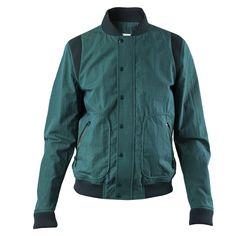 Band of Outsiders Baseball Jacket (Green)