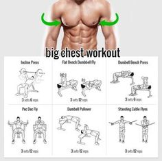 Want a Big Chest? Try these Exercises! Healthy Fitness Training