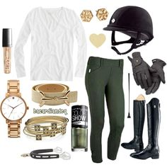 Ivy Gold, created by bacardiandeq on Polyvore