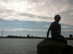 De vuelta a Copenhague... La sirena