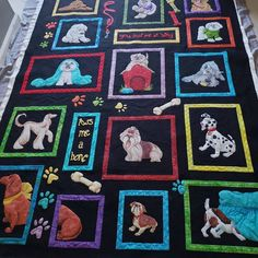 All the doggies! Longarm Quilting, Hand Quilting, Machine Quilting, Secondary Market, Pattern Names, Best Friends Forever, Needle And Thread, Ruler, Bff