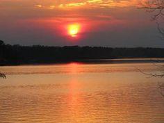 Sunset over Lake Oconee