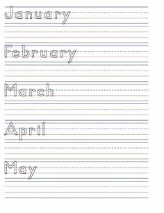 Improving Handwriting For Kids Worksheets