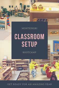 Classroom Setup Bootcamp All Access Check out this Montessori classroom bootcamp chalk full of amazing classroom resources and classroom tips. Learn how to design and set-up your Montessori classroom for success! Montessori Classroom Layout, Montessori Homeschool, Toddler Classroom, Montessori Toddler, Classroom Resources, Montessori Science, Montessori Bedroom, Montessori Elementary, Homeschooling