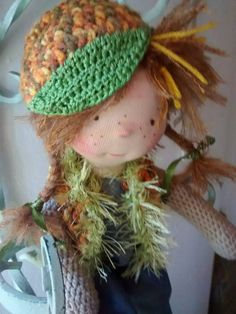 Waldorf doll by MeseHely on Etsy