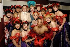 Robert Goulet, Gary Beach, and Les Cagelles from La Cage aux Folles backstage at the 2005 Tony Awards Photo: Anita and Steve Shevett Broadway Theatre, Broadway Shows, Robert Goulet, Drag Queens, Bending, Lady Gaga, First Night, Crossdressers, Transgender