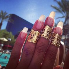 Dressy nails! Nice!