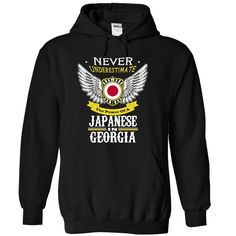 Never Underestimate The Power Of A Japanese in GEORGIA T-Shirts, Hoodies, Sweaters