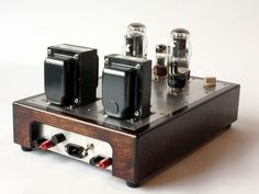 Single-ended Stereo Tube Amp | Specimen Products