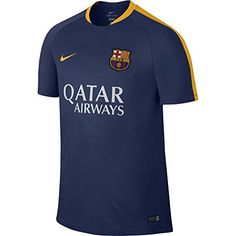 This dynamic berry Barcelona football training shirt is available to buy in  adult Camiseta a8fe60522