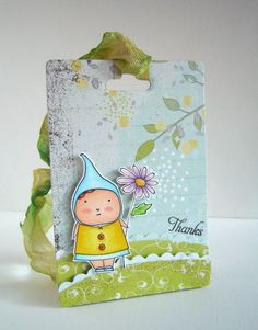 Such a cute card... I love Poppystamps!  I like the way they did the grass.