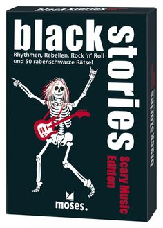 Black Stories - Scary Music Edition Spielwaren Kartenspiele Verschiedene