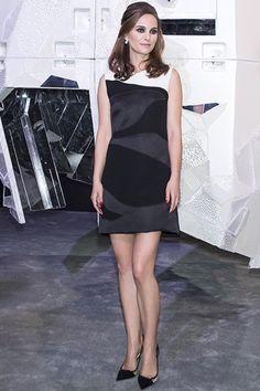 Natalie Portman wearing Dior Rose Bagatelle Earrings
