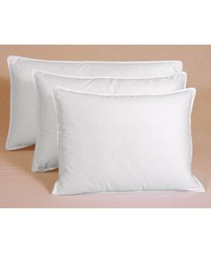 Shop for Egyptian Cotton 375 Thread Count Siberian White Down Pillow. Get free delivery On EVERYTHING* Overstock - Your Online Bedding Basics Store!