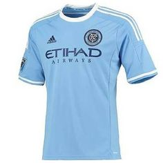 adidas Mens Gents Football Soccer New York City FC Home Shirt Jersey Christmas Competitions, New York City Fc, Soccer Season, Major League Soccer, Football Soccer, Adidas Men, Sportswear, Mens Tops, How To Wear