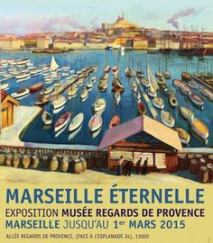 Musée Regards de Provence to catch the last weeks of Marseille Eternelle. Provence, Ile D Aix, Riva Boat, The White Stripes, Art Graphique, All Poster, South Of France, Vintage Travel, Vintage Postcards